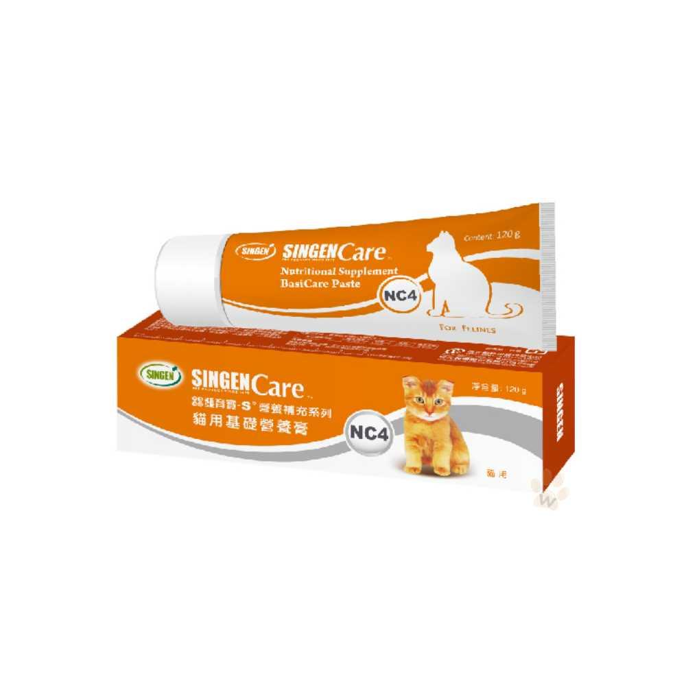 發育寶 Care系列-貓用基礎營養高 NC4 120g