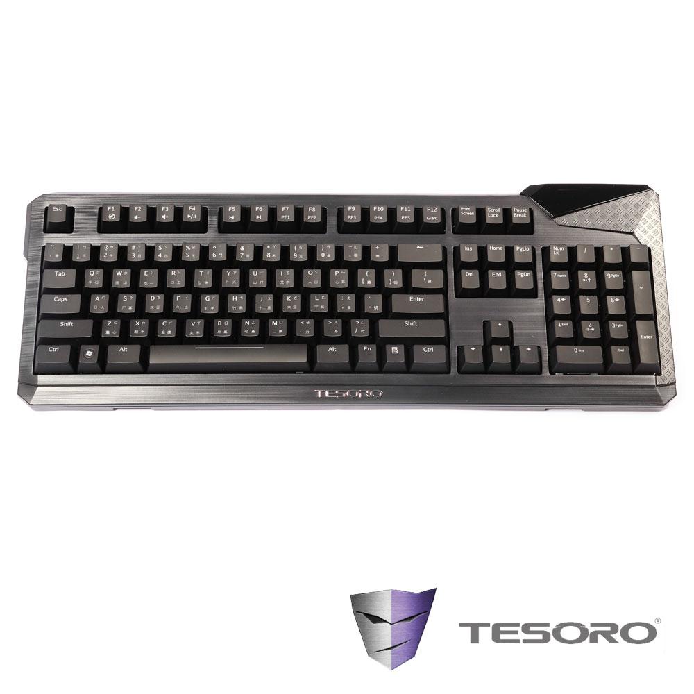TESORO鐵修羅 杜蘭朵機械式鍵盤(茶軸-中文版)