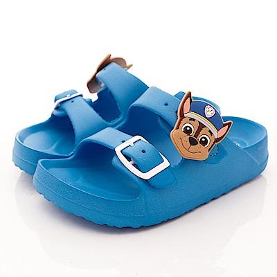 汪汪隊立大功 超輕量雙絆帶拖鞋款 EI4706藍(中小童段)