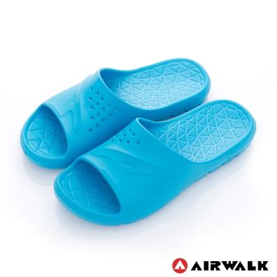 美國 AIRWALK 輕盈柔軟AJ拖鞋-藍色