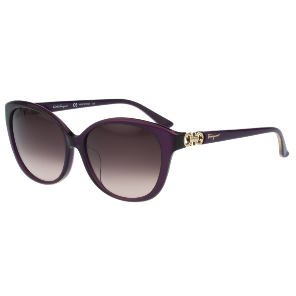 Salvatore Ferragamo- 時尚太陽眼鏡(紫色) @ Y!購物