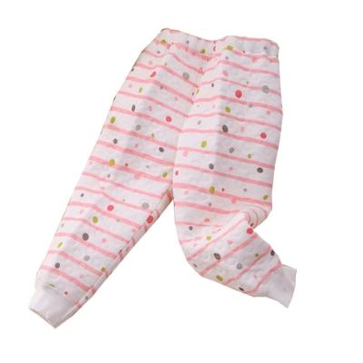 嬰幼兒三層棉居家睡褲 粉 k60060