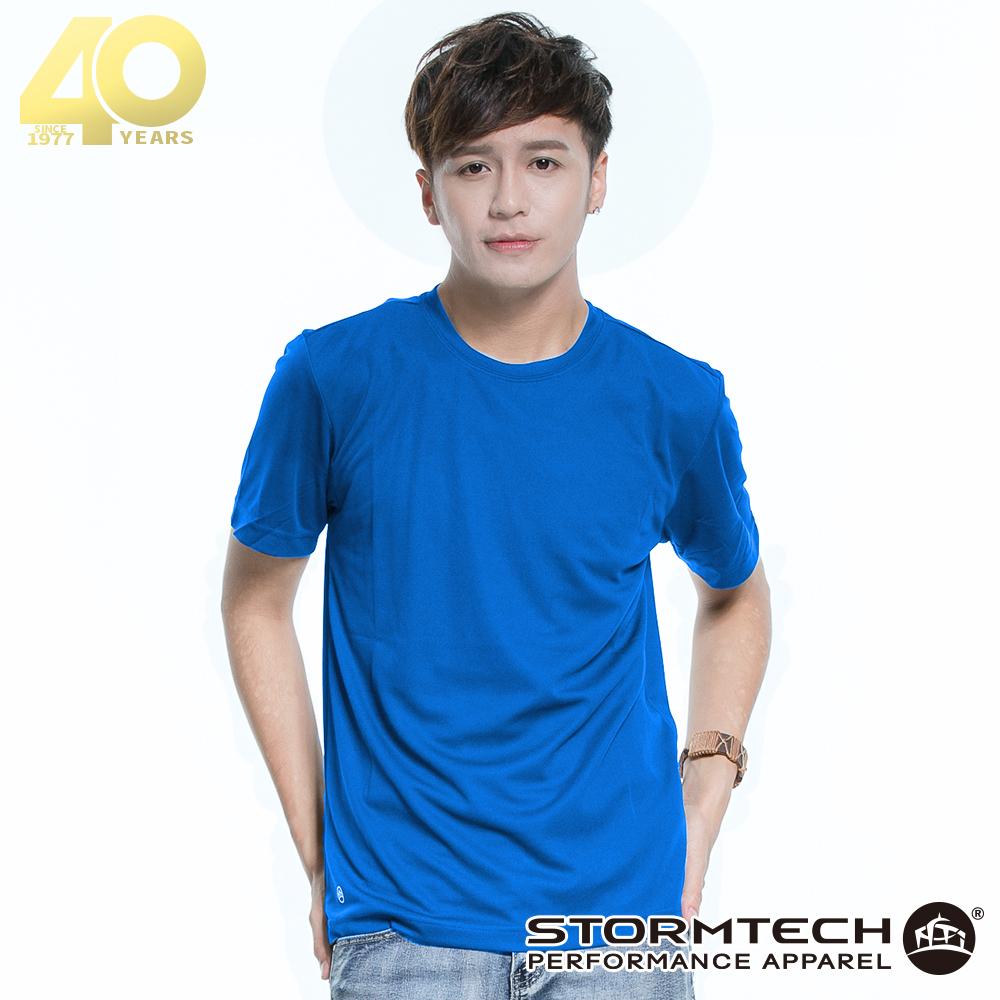 【加拿大STORMTECH】PGT-1吸濕排汗抗UV運動上衣-男-藍