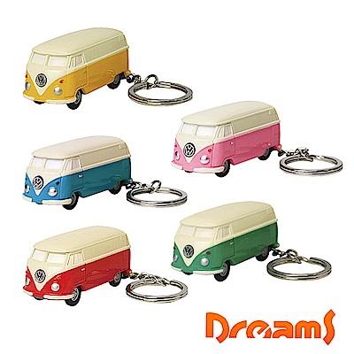 日本 Dreams VW福斯授權LED小巴士鑰匙圈