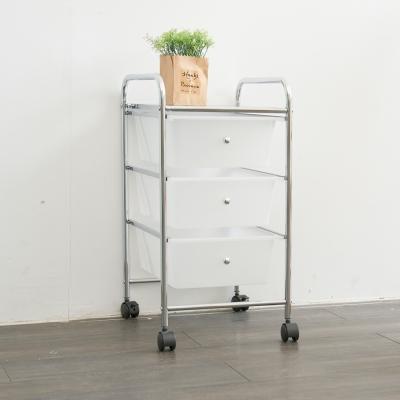 IKLOO宜酷屋 可移式三層抽屜收納箱