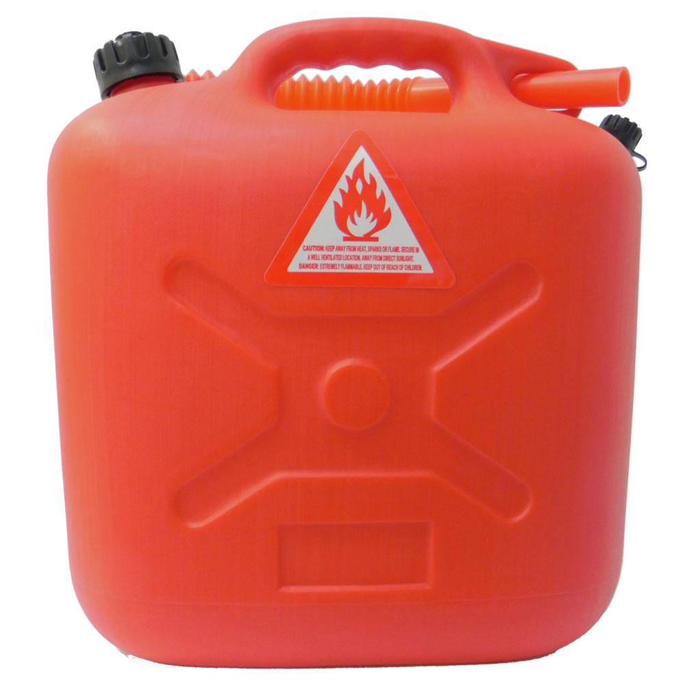 VOSUN 台灣製《暢銷款》HDPE 10L耐溫儲油油桶(附導油管)耐酸鹼/適露營.救車