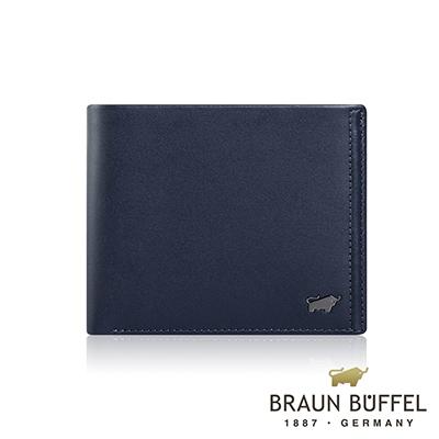 BRAUN BUFFEL -ANDRO 安卓系列8卡皮夾 - 海軍藍