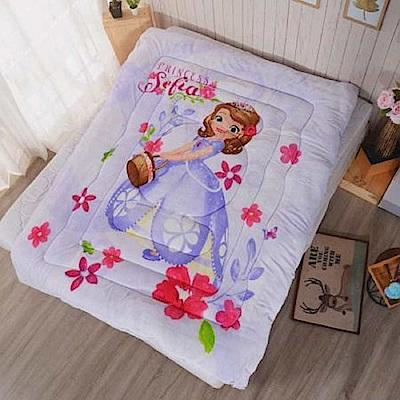 Disney迪士尼 公主傳奇法蘭絨暖暖被