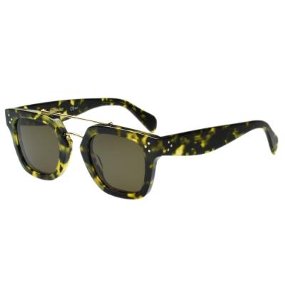 CELINE- 復古造型 太陽眼鏡 (琥珀色)