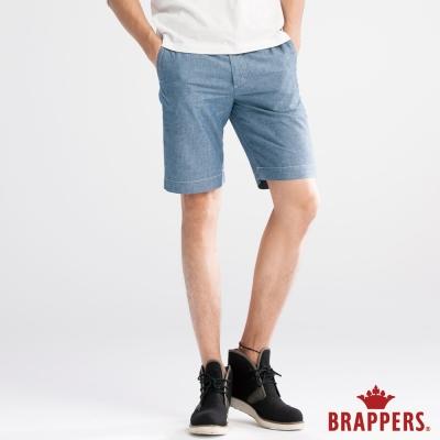 BRAPPERS 男款 HM中腰系列-男用五分褲-藍