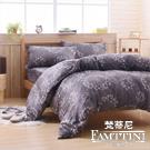 梵蒂尼Famttini-夜光微語 特大頂級純正天絲萊賽爾兩用被床包組