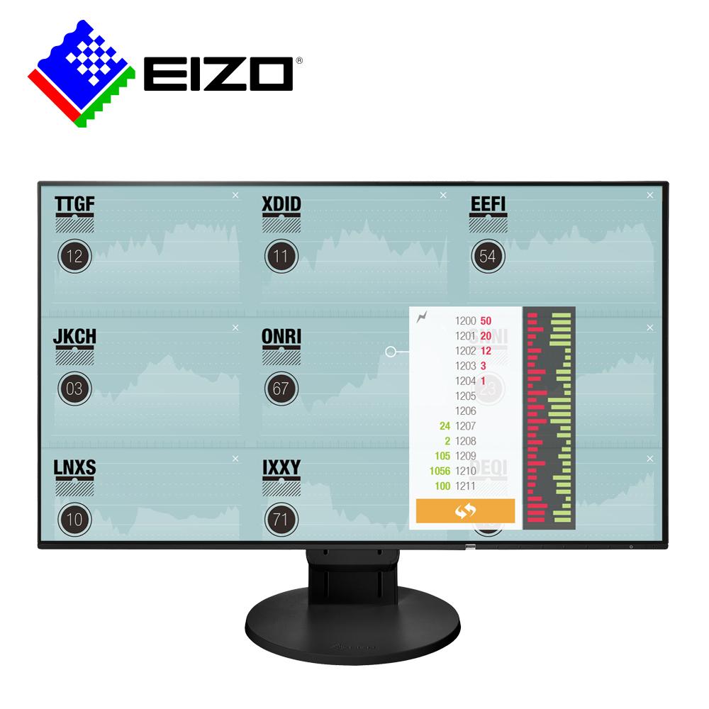 EIZO FlexScan EV2451 24吋/多訊號輸入/超薄邊框/低閃頻護眼16:9寬螢幕