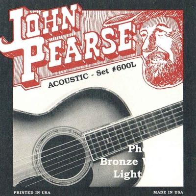 JOHN PEARSE JPXF-600L 12-53 民謠吉他套弦