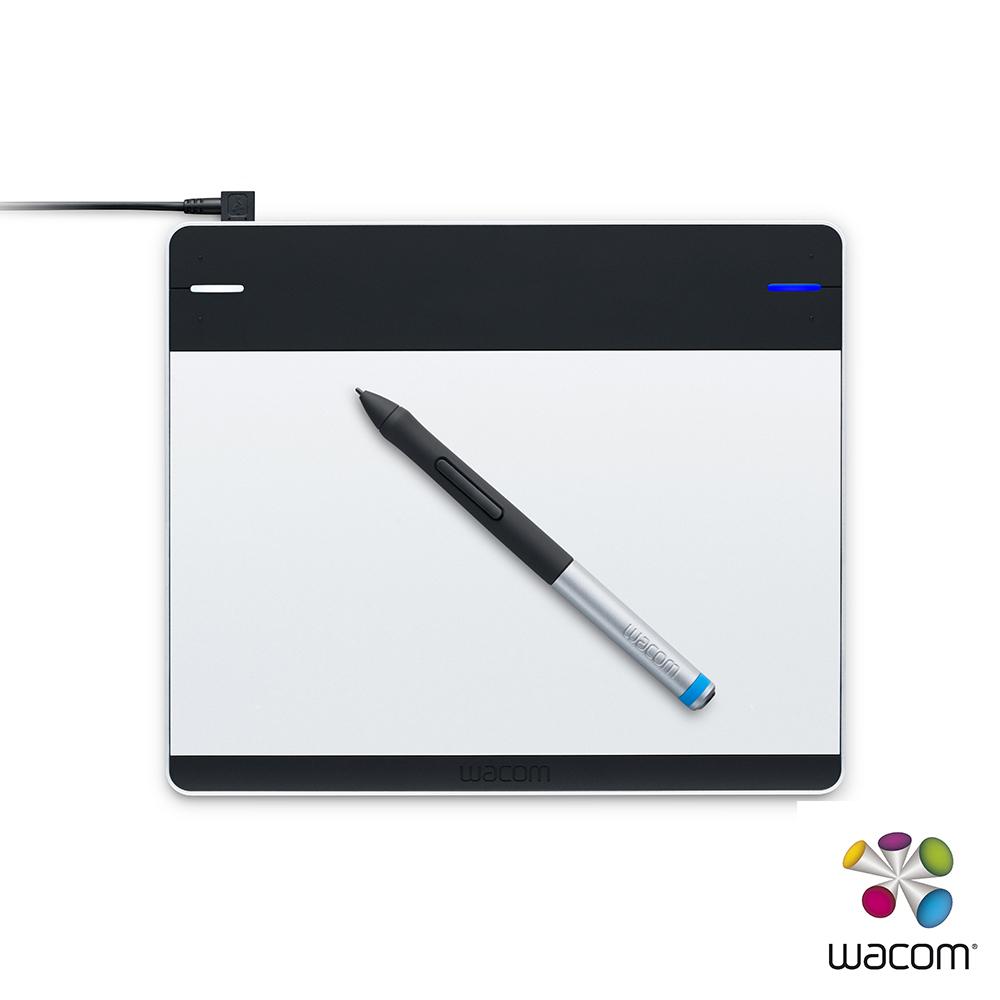 Wacom Intuos創意版 Pen Small繪圖板CTL-480(銀/黑)