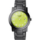 Vaness 誘惑圓舞曲陶瓷腕錶-綠面黑/38mm