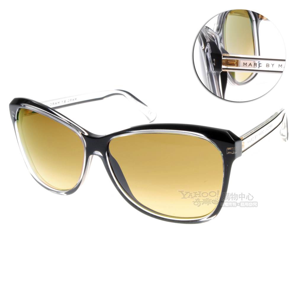 MARC BY MARC JACOBS太陽眼鏡#透明黑MMJ235S GADED