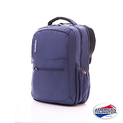 AT美國旅行者 Citi-Pro極度輕盈簡約可拆卸筆電後背包(藍)