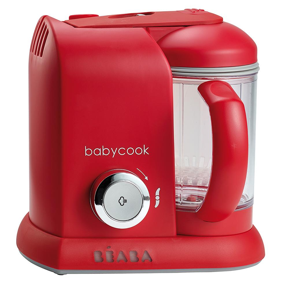 奇哥 法國BEABA 四合一副食品調理機-時尚紅