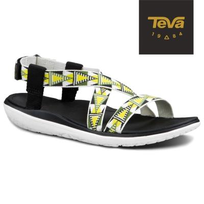 TEVA 美國-女 Terra Float Livia 休閒涼鞋 (圖騰黃)