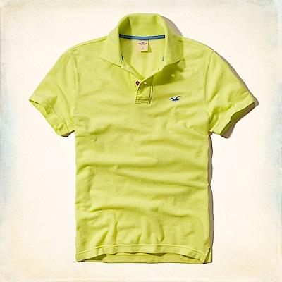 Hollister HCO  短袖 polo 綠色 0639