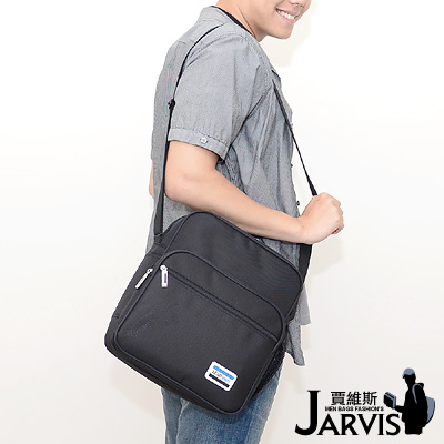 Jarvis側背包 休閒公事包-簡約
