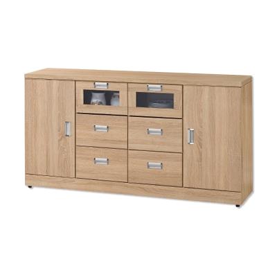 Bernice-維克扥5.3尺碗盤收納餐櫃(下座)-160x43x86cm