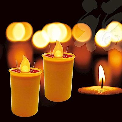 派樂水燈燈專利環保開運水蠟燭-黃色燈芯