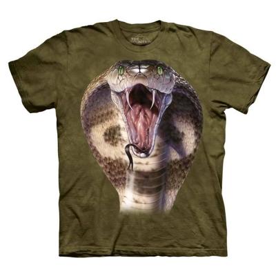 摩達客 美國進口The Mountain眼鏡蛇 純棉短袖T恤