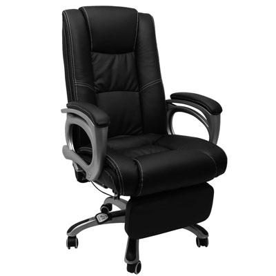邏爵 -Design-貝里內利坐臥兩用主管椅/辦公椅/電腦椅