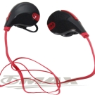 OMAX運動型藍芽頸掛式耳機麥克風-紅色