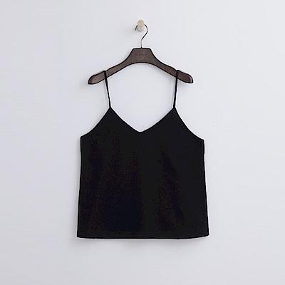 Hang Ten - 女裝 - 寬鬆細帶背心-黑色