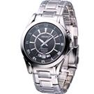 SEIKO Premier 經典萬年曆 時尚腕錶(SNQ103J1)黑/40mm