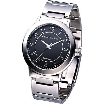 CK 都會風情時尚腕錶-(K8713102)/36mm