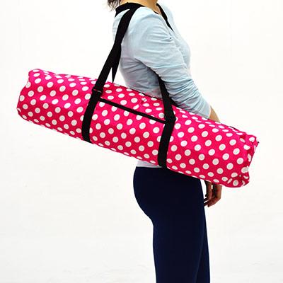防潑水瑜珈背袋-急速配