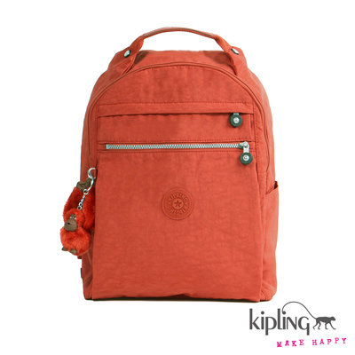 Kipling-後背包-印度朱紅素面