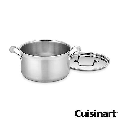 美國Cuisinart美膳雅專業級不鏽鋼湯鍋20cm(3.8L)