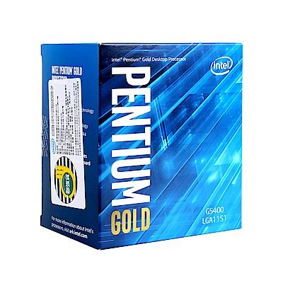 Intel 第八代 Pentium G5400 雙核心處理器(代理商貨)