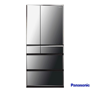 Panasonic 國際牌 665L日製六門鏡面 變頻冰箱 NR-F672WX-X1
