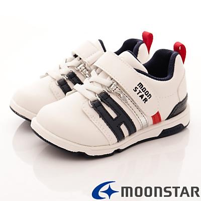 日本月星頂級童鞋-十大機能款 TW1555白藍(中小童段)HN