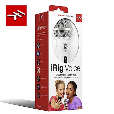 IK Multimedia iRig Voice White 行動裝置麥克風 時尚白