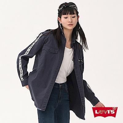 Levis 女裝 薄外套 LOGO滾邊