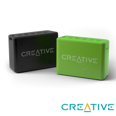 Creative Muvo 1C 防潑水輕巧藍牙喇叭-綠色