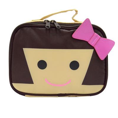 Hanna Hula 日本多用途隨身包-可裝化妝品/衣物/尿片(Hanna 妹妹)