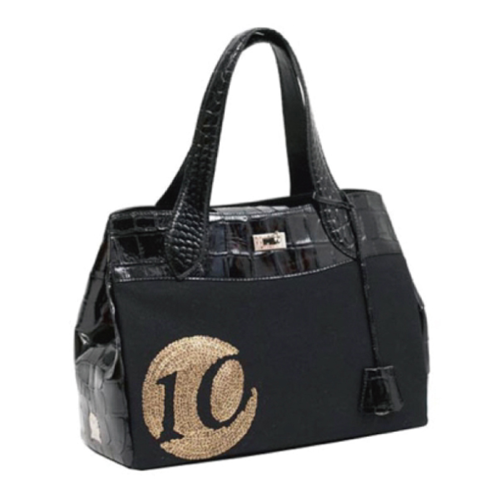 A.D.M.J. 皇冠亮片 FINE-TOTE(BLACK) product image 1