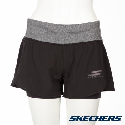 SKECHERS 女短褲 - GWPSH440BLK