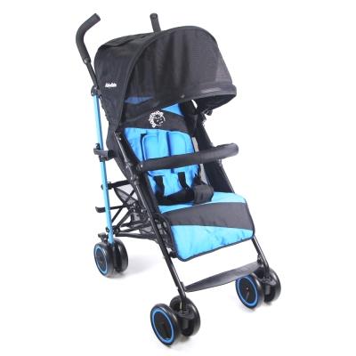 BabyBabe 新款全罩式加寬平躺傘車-藍