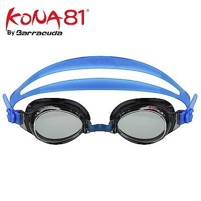 美國巴洛酷達Barracuda KONA81三鐵度數泳鏡K71395 藍
