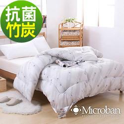 Microban-純淨呵護 台灣製新一代抗菌竹炭被2.2kg