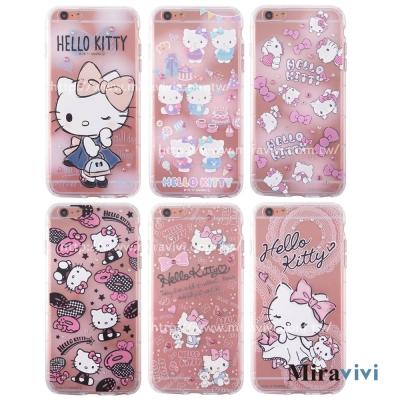 三麗鷗iPhone 6/6s Plus施華落世奇水鑽防摔空壓保護套_Kitty