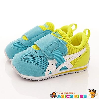 亞瑟士SUKU2機能鞋 大絆帶熱銷款 ON71-3901 青 (寶寶段)